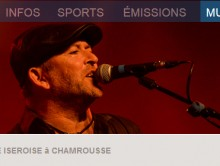 Radio France bleu isère